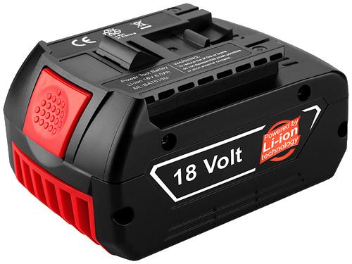 電池,全新替代BOSCH博世18V BAT609 充電手電筒鑽鋰電池電動工具備用電源4000mah在線供應