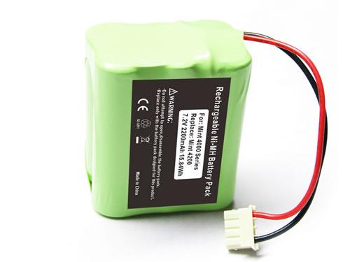 替代Mint 4200 irobot Braava 320 擦地機電池 7.2V 2000mAh