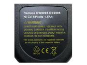 DEWALT  電池 Ni-Cd 18V 1500mAh