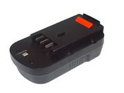 BLACK & DECKER  電池 Ni-Cd 18V 2500mAh