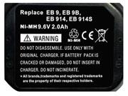 HITACHI  電池 Ni-MH 9.6V 2000mAh