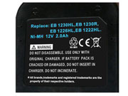 HITACHI  電池 Ni-MH 12V 2000mAh